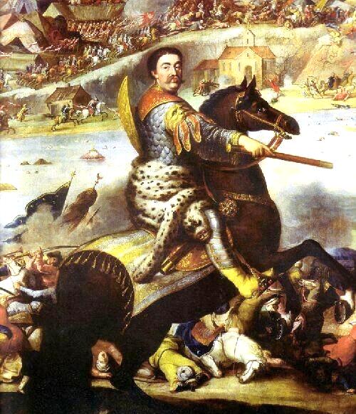 Andreas Stech, Ferdinand van Kessel - Jan Sobieski pod Chocimiem